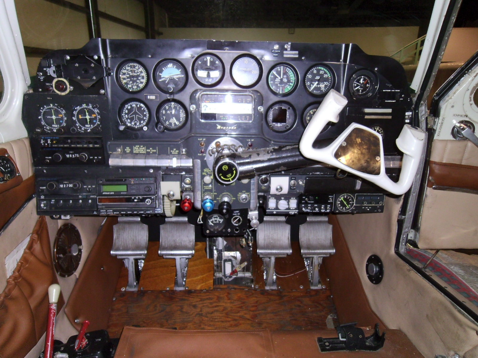 More Power In The Instrument Panel Also