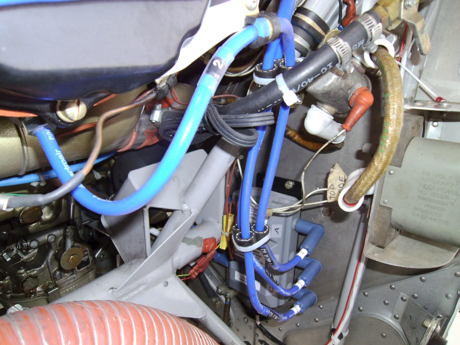 ElectroAir Electronic Ignition installation in a Cessna 182