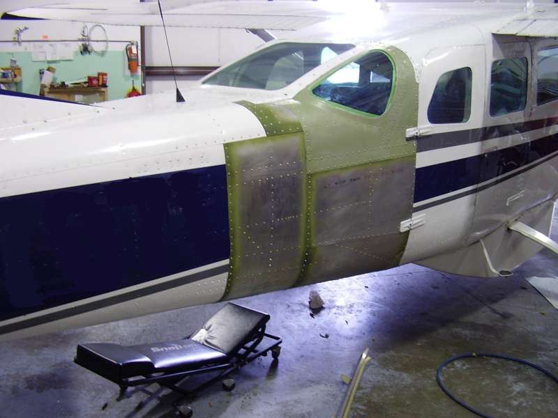 206 cargo door repair - skins installed & Cessna 206 Cargo Door Repair Photo Journal | AVSTAR Aircraft of ...