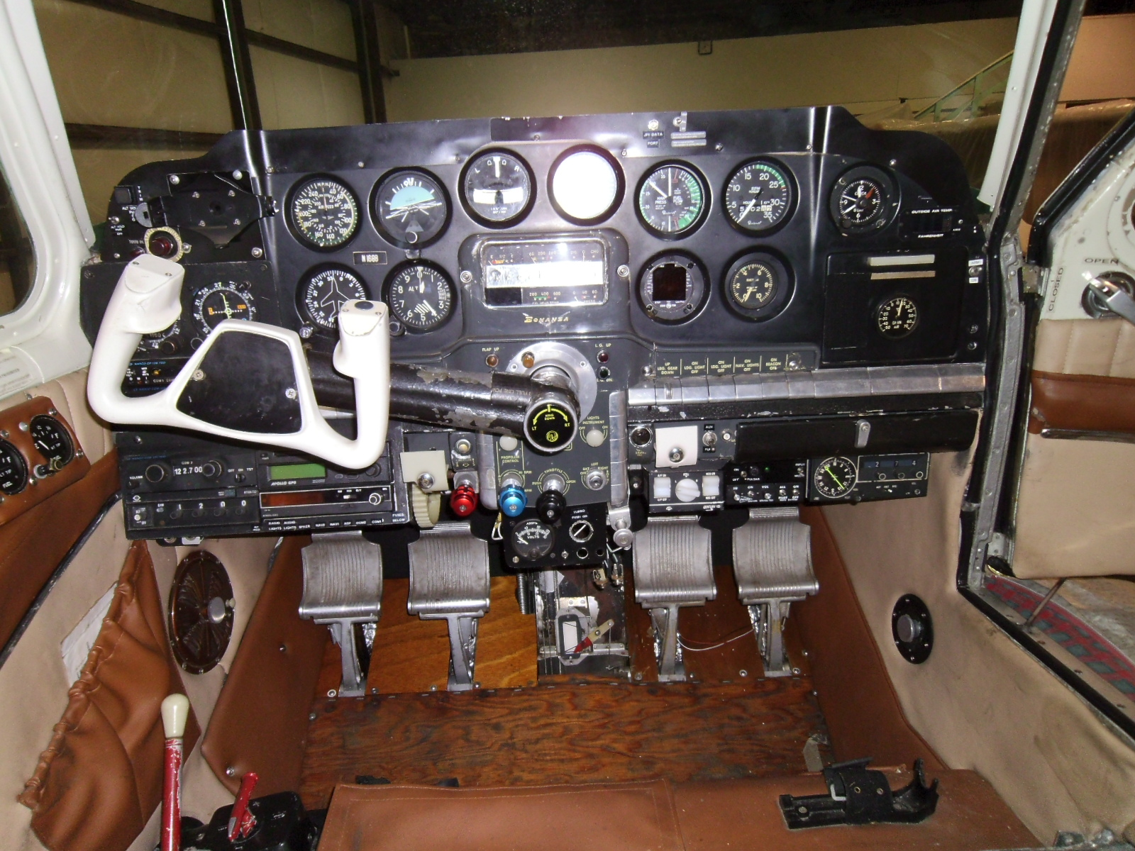 More power in the instrument panel also  | Beech G35 Bonanza